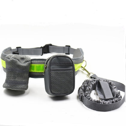 Reflective running dog leash