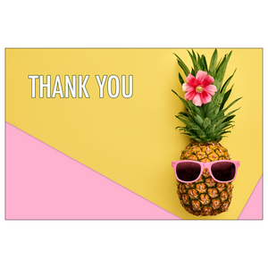 Pineapple Flat Note Cards // Set of 10