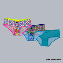 Load image into Gallery viewer, Panty Teen - Ref. 10090 (Pack 3 Unidades)
