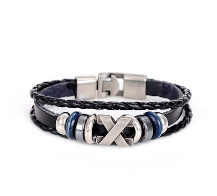 Pirate Anchor Wrap Bracelet