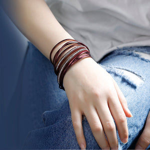 Bohemian Multilayer Leather Bracelet (6 variants)