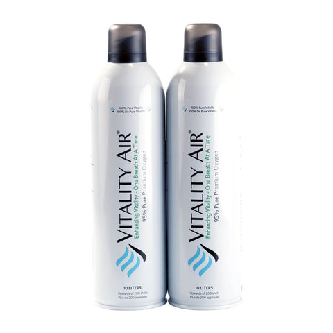Twin Pack of Premium Oxygen 10L