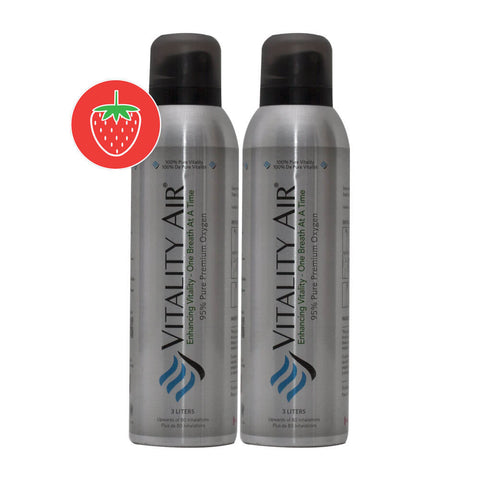 Twin Pack - 3L Premium Strawberry Flavored Oxygen