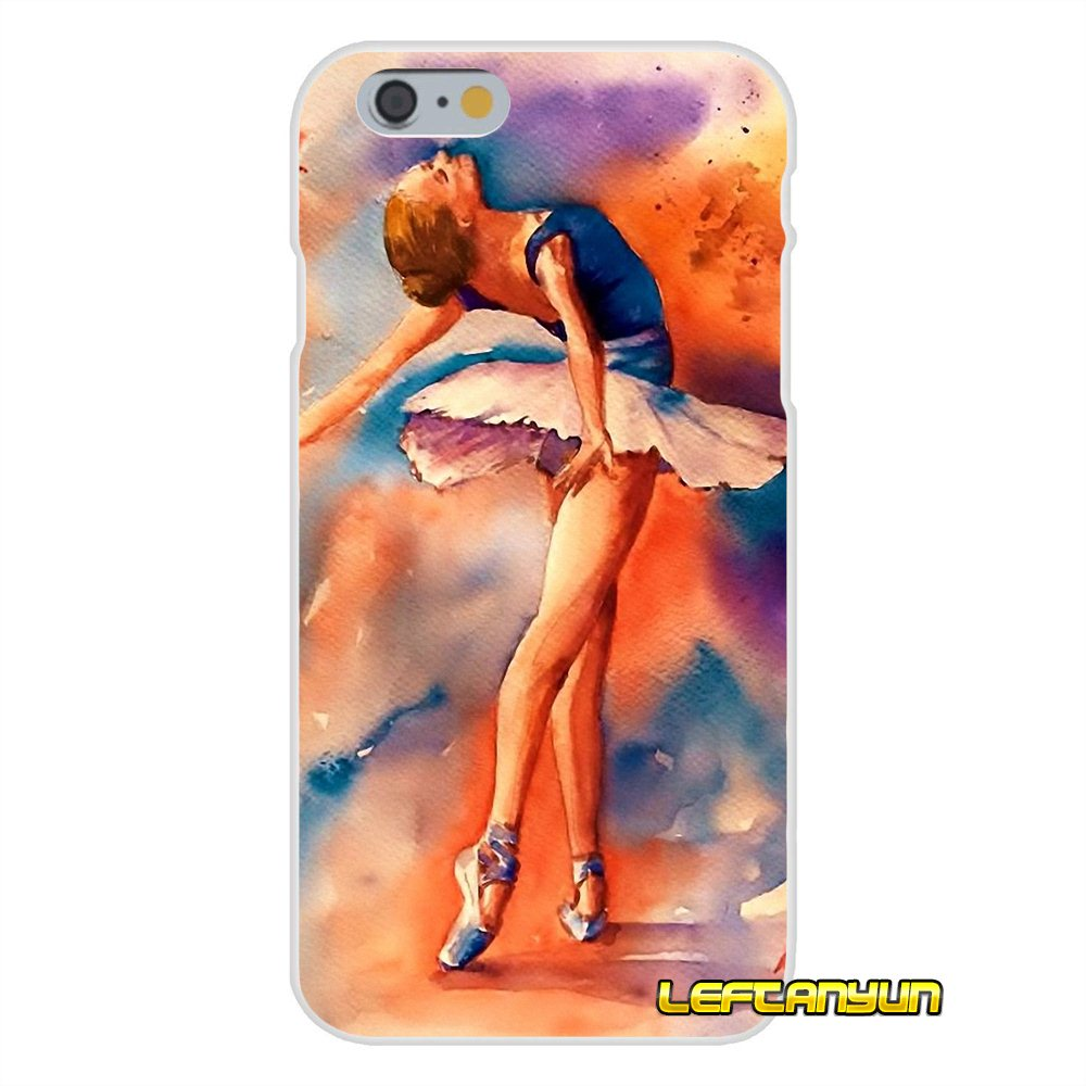 Ballerina Dancing Dance Girl Soft Silicone phone Case For iPhone X ...