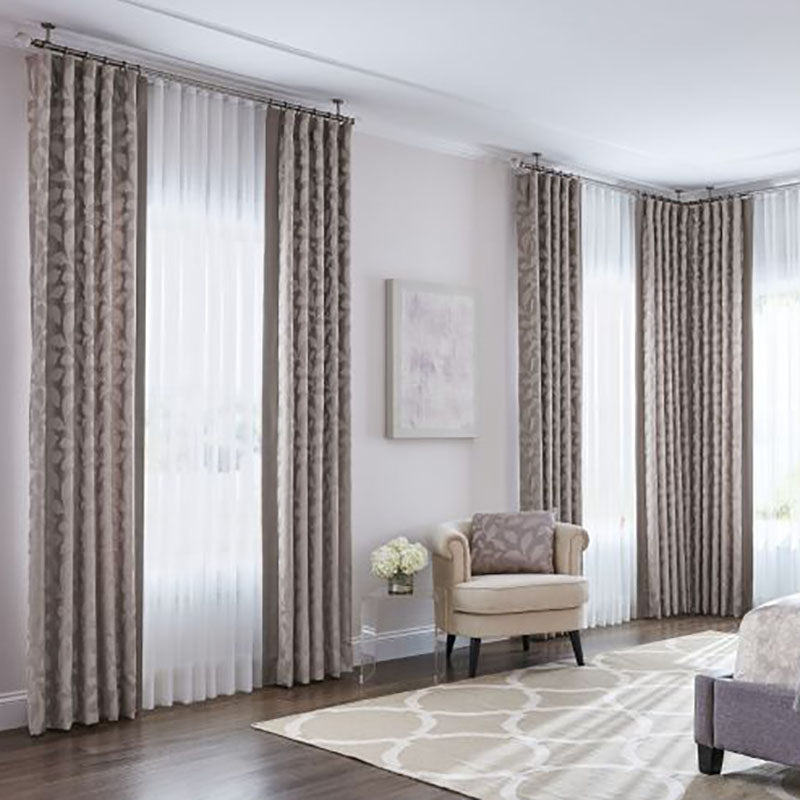Shop Graber Custom Curtains & Drapery from The Color House, RI.