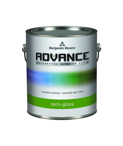 Benjamin Moore Advance Semi Gloss Paint available at The Color House.