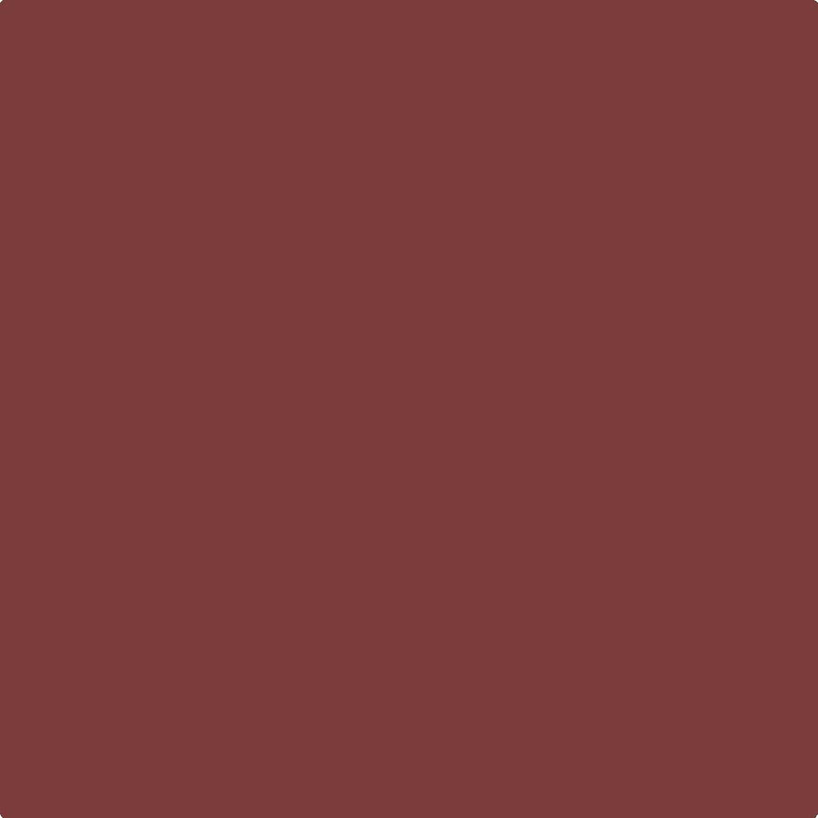 Benjamin Moore Century Matte Interior Paint in C7 Carmine Red