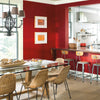 Benjamin Moore's AF-290 Caliente 2018 Color of the Year in a dining room. Shop trend forward and timeless pops of color.