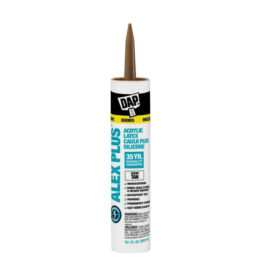 Shop DAP Alex Plus Fast Dry Caulk at The Color House in Rhode Island.