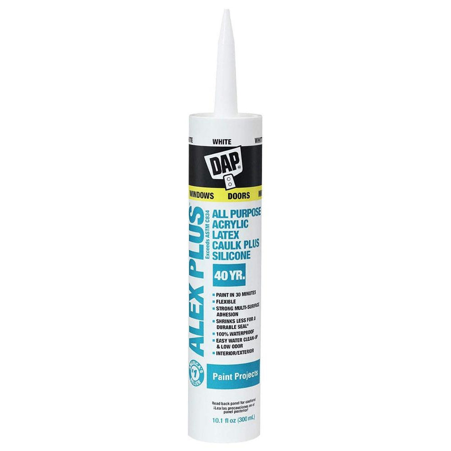 Shop Dap Alex Plus with Silicone Caulk at The Color House in Rhode Island.
