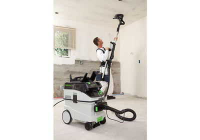 Festool Drywall Sander LHS 225 EQ-Plus with extractor available at The Color House.