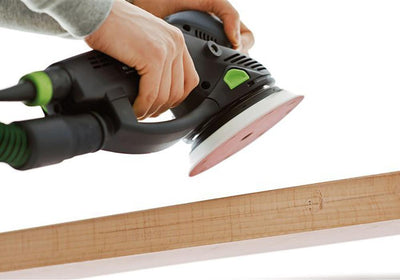 Festool Rotex RO 150 Multi-Mode Sander in use