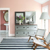 Benjamin Moore's 2094-60 Pleasant Pink. Shop blush paint tones from 2018 color trends.