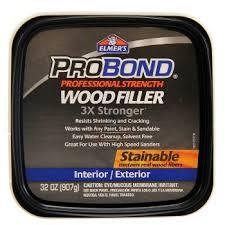 Probond Exterior Stainable Wood Filler HP