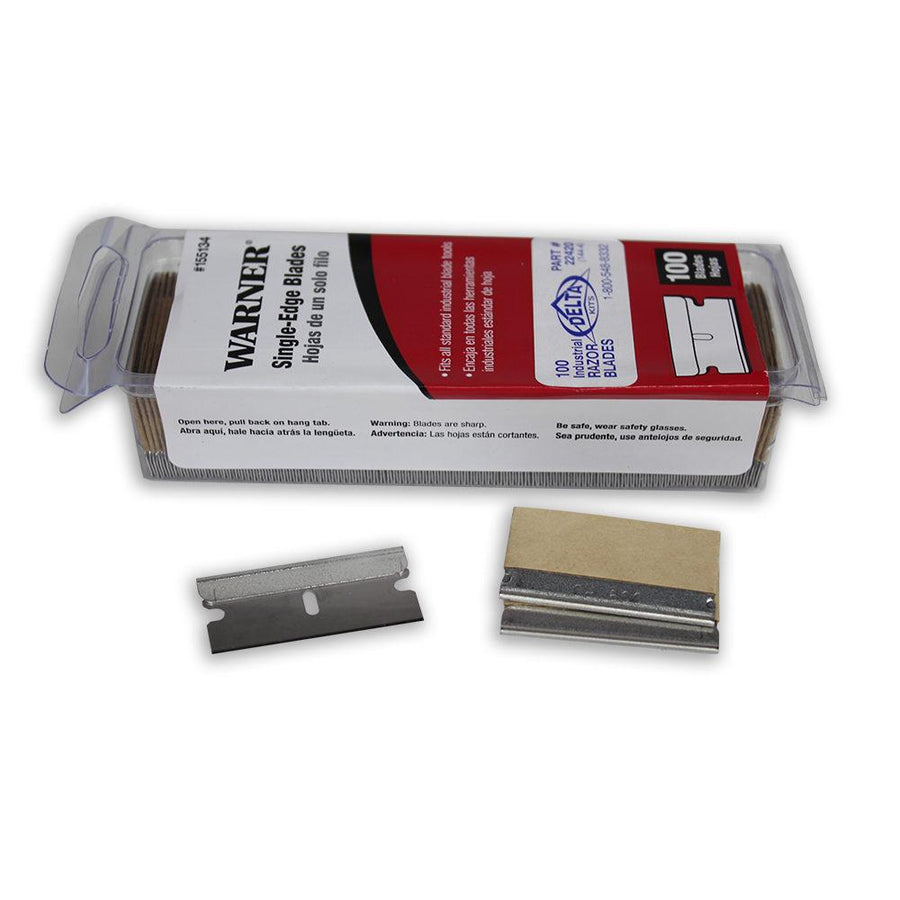 Shop SINGLE EDGE RAZOR BLADE 100 PACK at The Color House in Rhode Island.