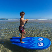 Jelly Froth Blue - Little Rippas SUPs the most fun, toughest and safest kids SUPS