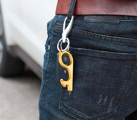non touch door opener stay safe keychain key freeshipping