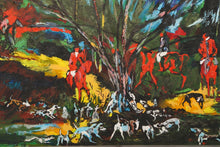 Painting - Original - Oil - Impressionism - Hunt Scene