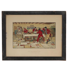 Cecil Aldin Chromolithograph The Fallowfield Hunt Framed and Signed