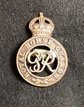 Badge - Royal Horse Guards - King George V - Antique