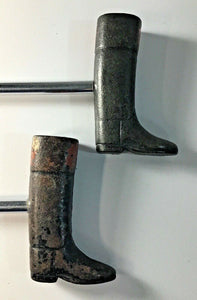 Boot Pulls Vintage Cast Iron Boot Form Handles