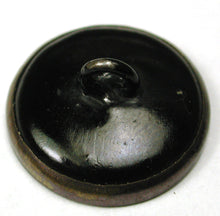 Button - Brass - Fox With Pipe