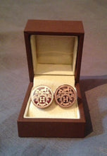 Cuff Links - Hermes - Rose Gold Wash