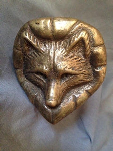 Faucet - Fox Mask - Vintage White Swan Company - Brass