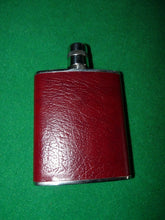 Flask - Stainless Steel Leather Wrapped