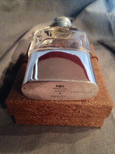 Flask - Sterling Silver and Glass - Ladies - Gorham - Old French Pattern