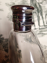 Flask - Sterling Silver and Glass - Gentleman's Gorham Flask - Engraved