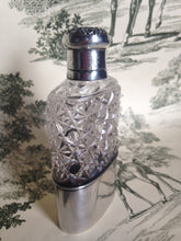 Flask - Sterling Silver and Glass - Ladies - American