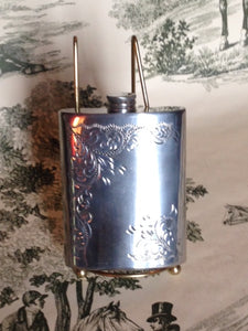 English Pewter Flask Filigree  $100 less Hoffirtz