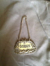 Hang Tag - Decanter - Vagabond House - Pewter - Burbon - Fox Hunting Scene Border