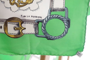 Scarf Hermes With Box by Francoise de la Perriere Cuivreries Horses and Brasses