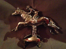 Hood Ornament - A Chrome Fox Hunter Hood Ornament