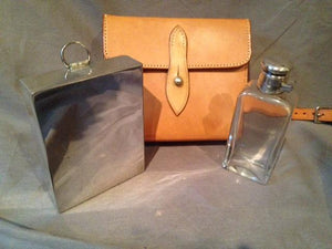 Sandwich Case With Complete Contents- James Dixon and Son - Vintage Ladies