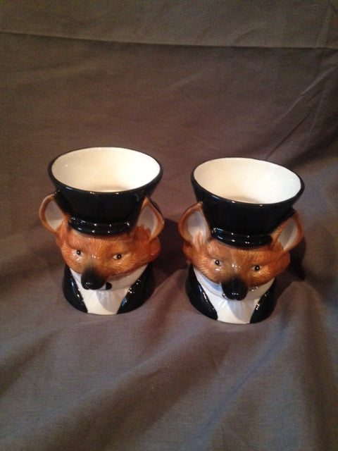 Mugs - Formal Foxes - Fitz and Floyd