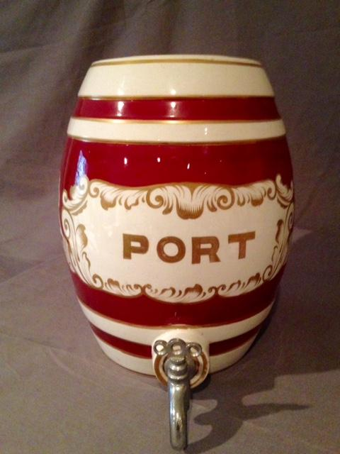 Ceramic Port Barrel - Vintage