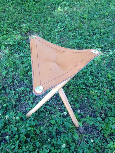 Shooting Seat Leather and Vintage