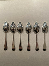 Spoons Demitasse Vintage Fox Mask and Hunt Whip Bas Relief Design English
