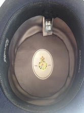 Top Hat by Christy's of London Navy Beaver Including Original Hat Box