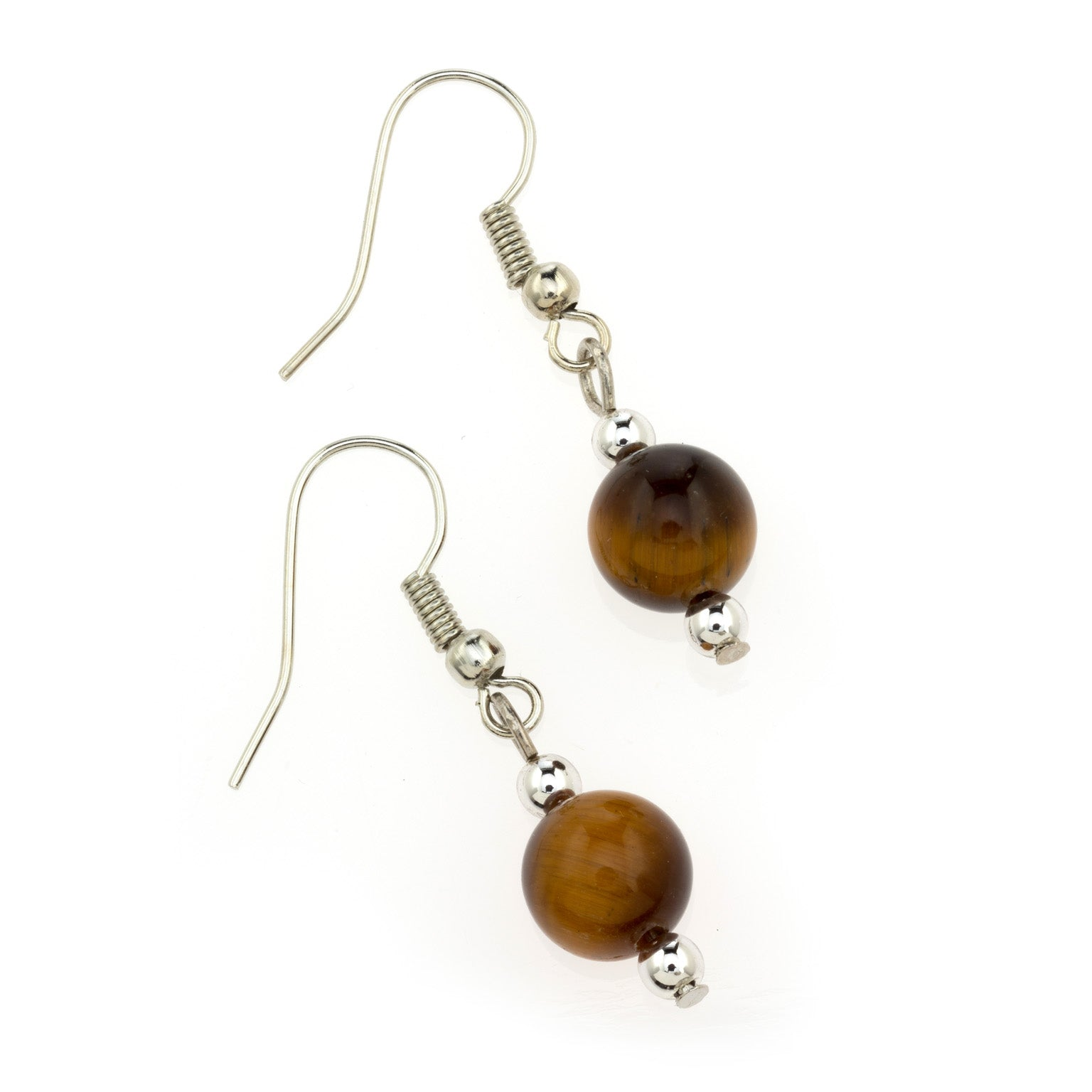 Tiger Eye MCB 8mm Earring