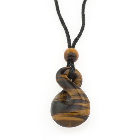 Tiger Eye Diva Pendant