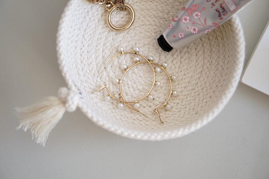 MINI COTTON BASKET