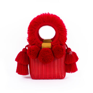 ALMITA BAG - RED/RED