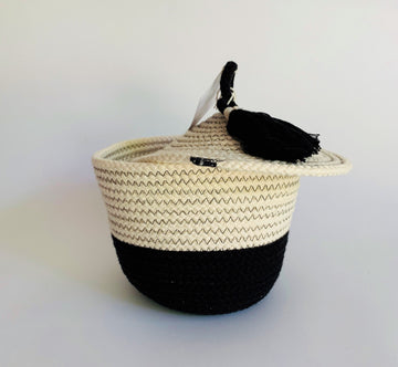 PANERA COTTON BASKET- 2 COLOR