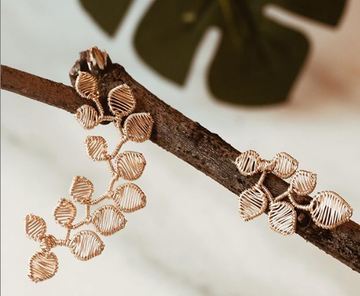 LEAF EAR CUFFS