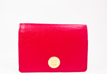 SMALL RED WALLET