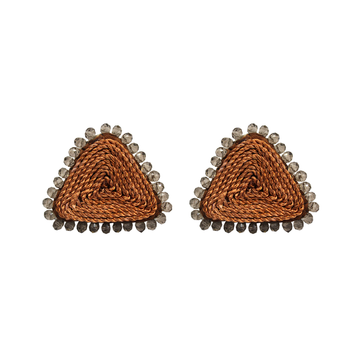 SMALL TRIANGLE EARRINGS
